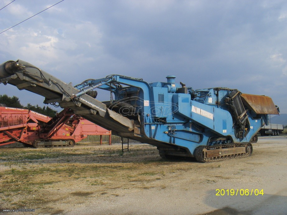 (SN: 2786) Crusher, TEREX-PEGSON 1412 TP 4800 H ,, TOP......